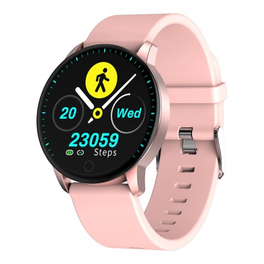 Makibes Q20 Smartwatch - Pink