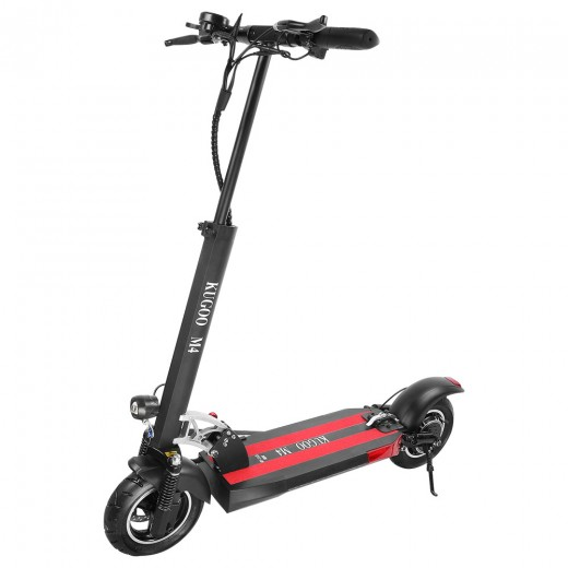 KUGOO M4 Folding Electric Scooter - Black