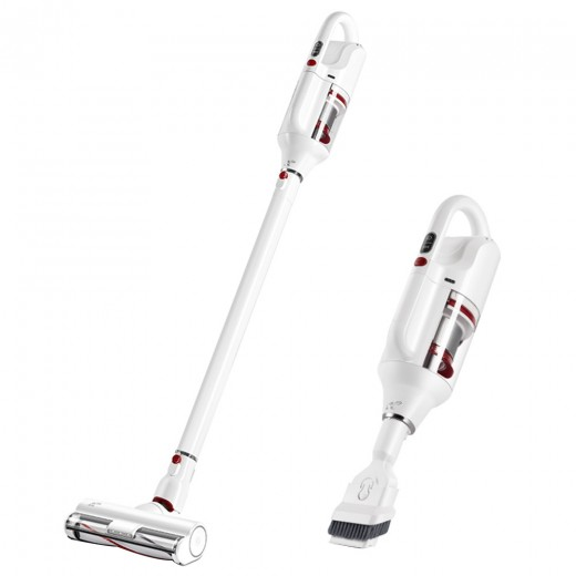 PUPPYOO T10 Home Cordless Vacuum Cleaner - White