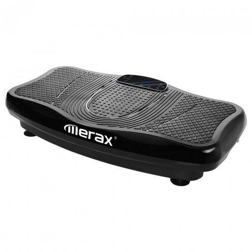 Merax Plateforme Vibrante 2D avec Bluetooth - Noir