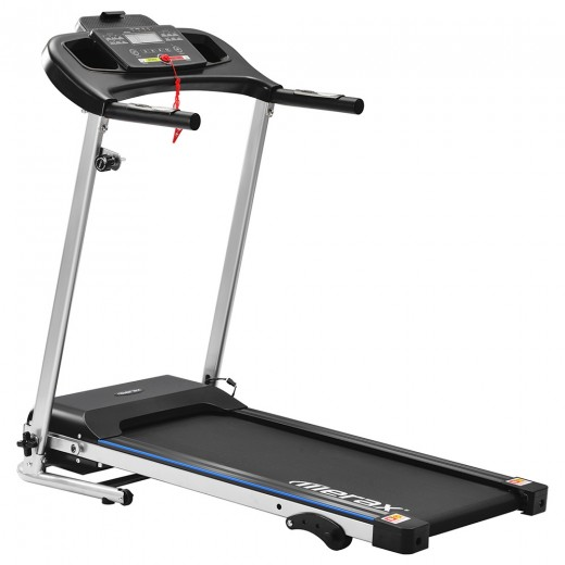 Merax Folding Electric Treadmill (12km/h) - Black