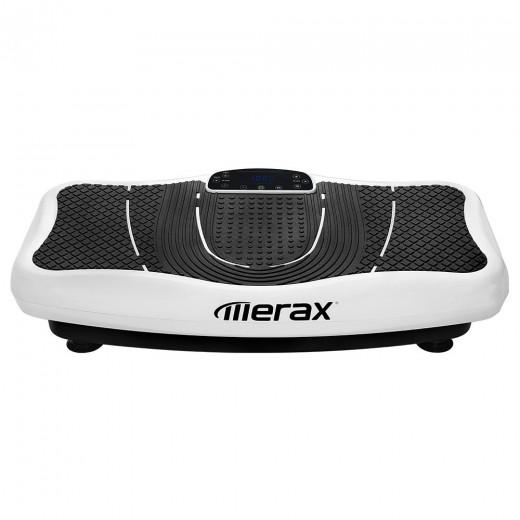 Merax Plateforme Vibrante 2D avec Bluetooth - Blanche