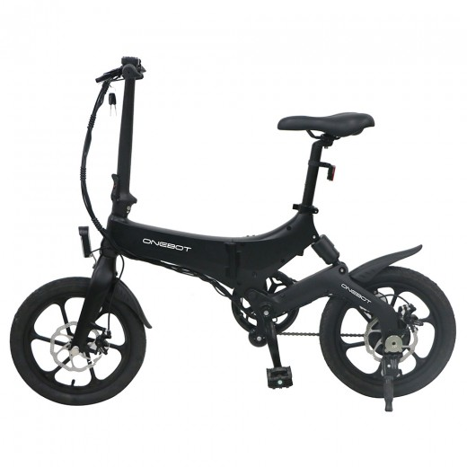 ONEBOT S6 Folding Electric Bike - Black