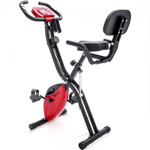 Merax X-Bike Foldable Fitness Training Bike - Red