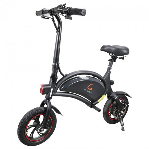 KUGOO B1 Vélo électrique pliant - Noir