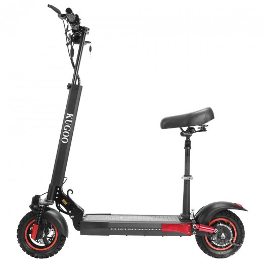 KUGOO M4 Pro Folding Electric Scooter - Black