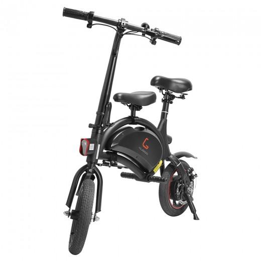 KUGOO B1 Vélo électrique pliant avec siège enfant - Noir