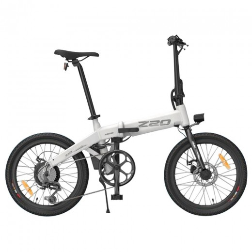 Xiaomi HIMO Z20 Folding Electric Moped Bicycle - White