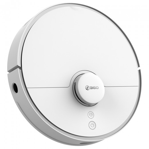 360 S5 Robotic Vacuum Cleaner - White