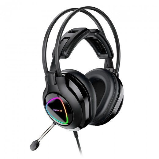 Tronsmart Glary Alpha Casque Gaming LED - Noir