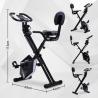 Merax Foldable Fitness Bike - White