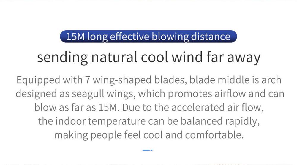 Xiaomi JIMMY JF41 Smart Fan - Silver | Fast shipping on