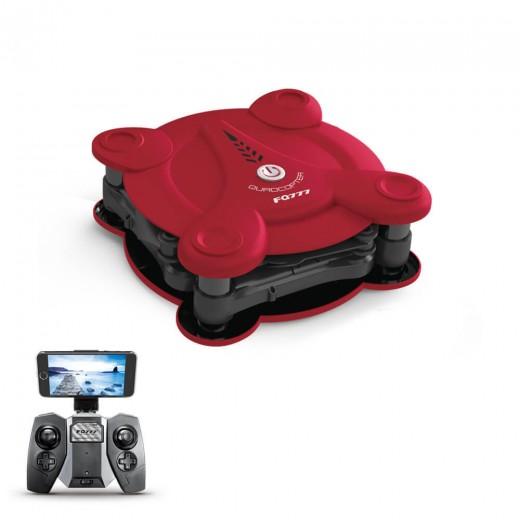 FQ777 FQ17W Mini Drone Repliable - Rouge