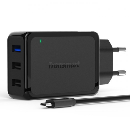 Qualcomm Certified Tronsmart Wall Charger 42W 3 Ports