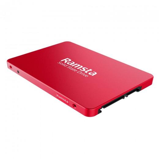 SSD Ramsta S600 480GB SATA3 - Rouge