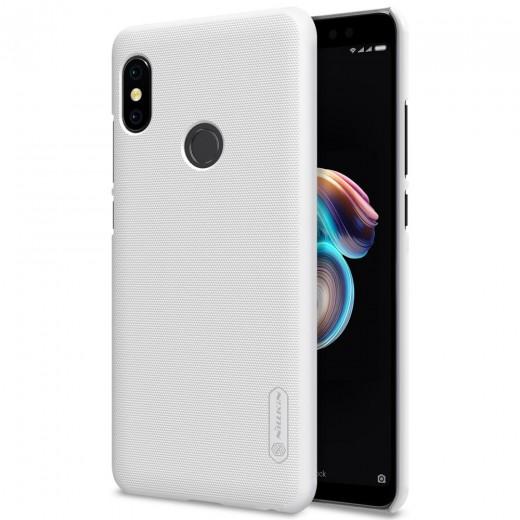 Coque Nillkin pour Xiaomi Redmi Note 5, Blanche