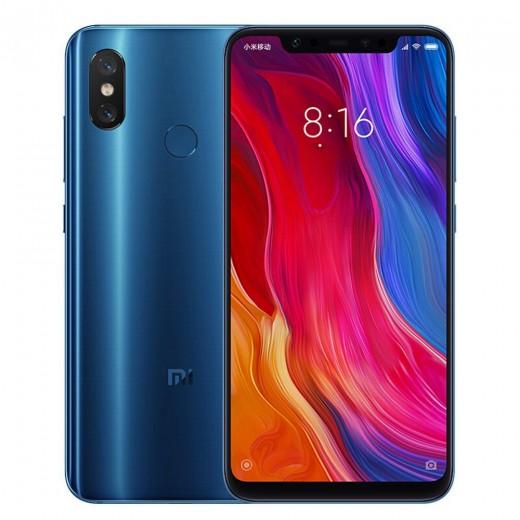Xiaomi Mi8 6/128Go, Bleu