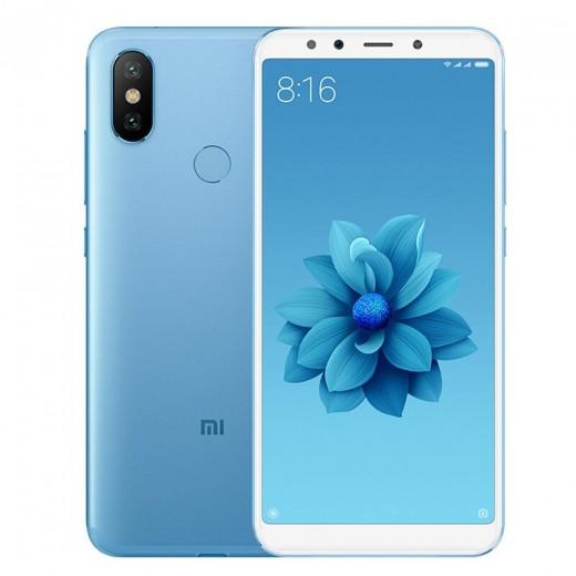 Xiaomi Mi A2 4/64Go AndroidOne, Bleu